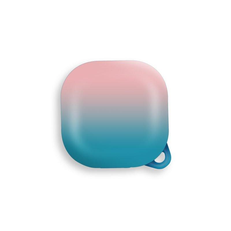 lovingcase wholesale samsung galaxy live buds cases- gradient rainbow pink blue