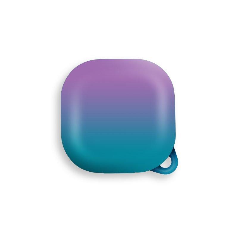 lovingcase wholesale samsung galaxy live buds cases- gradient rainbow -purple blue