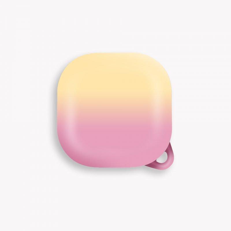 lovingcase wholesale samsung galaxy live buds cases- gradient rainbow - yellow pink