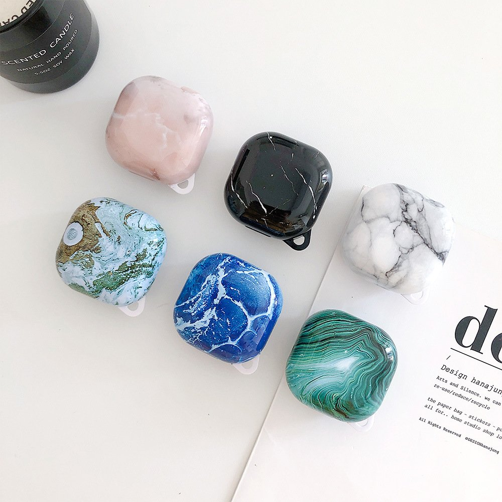 lovingcasse bulk sell marble print samsung galaxy live buds cases - 6 colors 2