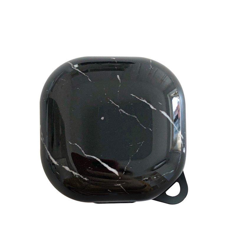 lovingcasse bulk sell marble print samsung galaxy live buds cases -black