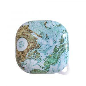 lovingcasse bulk sell marble print samsung galaxy live buds cases - milky green