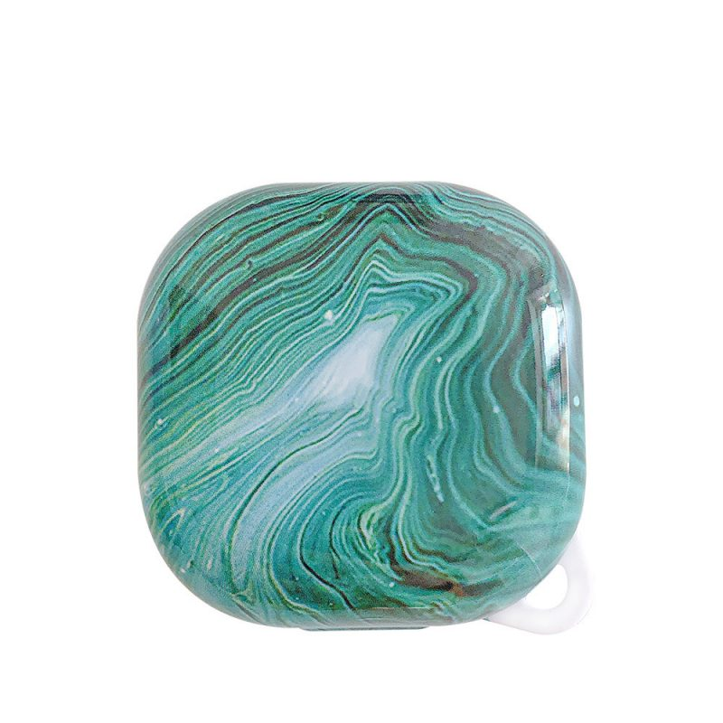 lovingcasse bulk sell marble print samsung galaxy live buds cases - turquoise