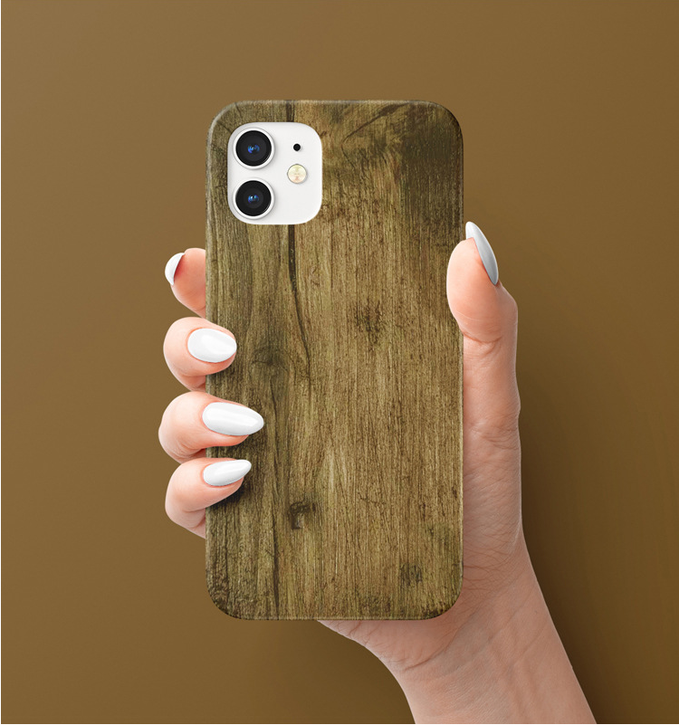 lovingcase wholesale customize 3d sublimation print iphone case- wood pattern