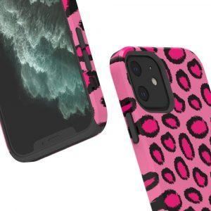 lovingcase bulk custom printed iphone case- hot pink leopard 1