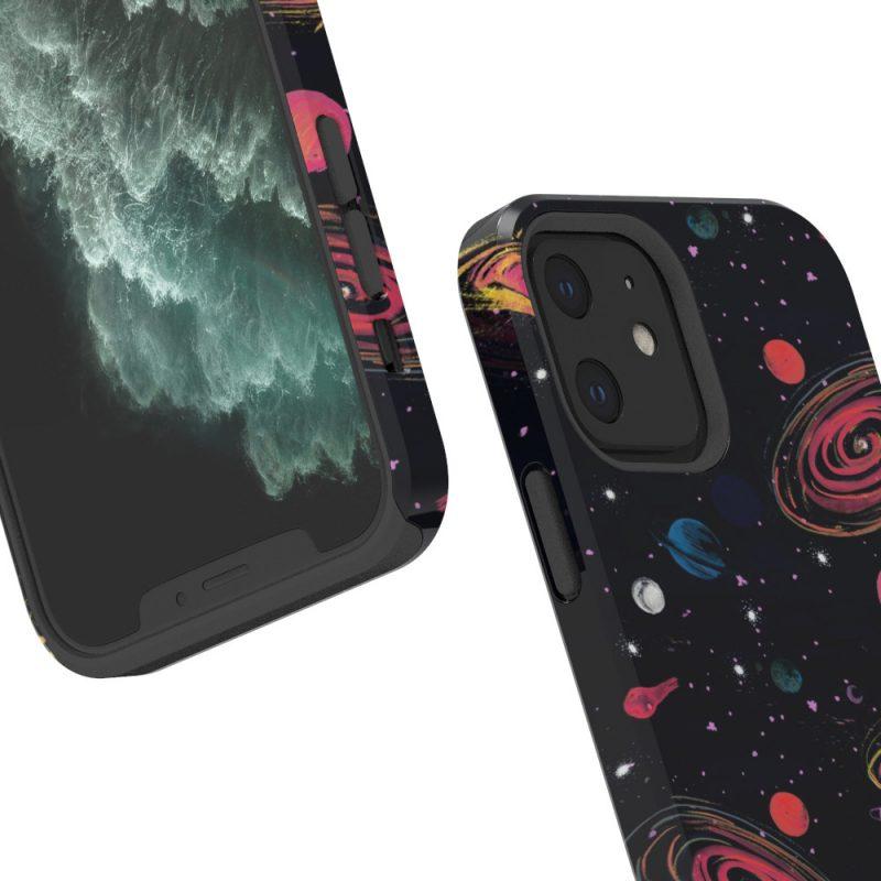 lovingcase custom iphone case bulk order-3d printed -outer space 3