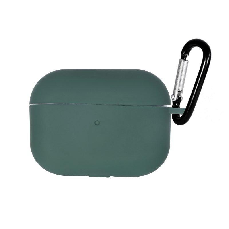 LOVINGCASE wholesale-bulk buy silicone airpods pro case- dark green 3