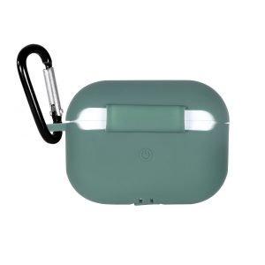 LOVINGCASE wholesale-bulk buy silicone airpods pro case- dark green
