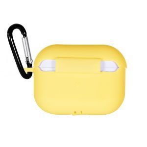 LOVINGCASE wholesale-bulk buy silicone airpods pro case- yellow